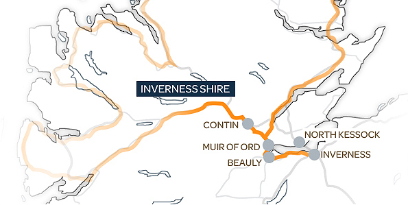 Inverness Map