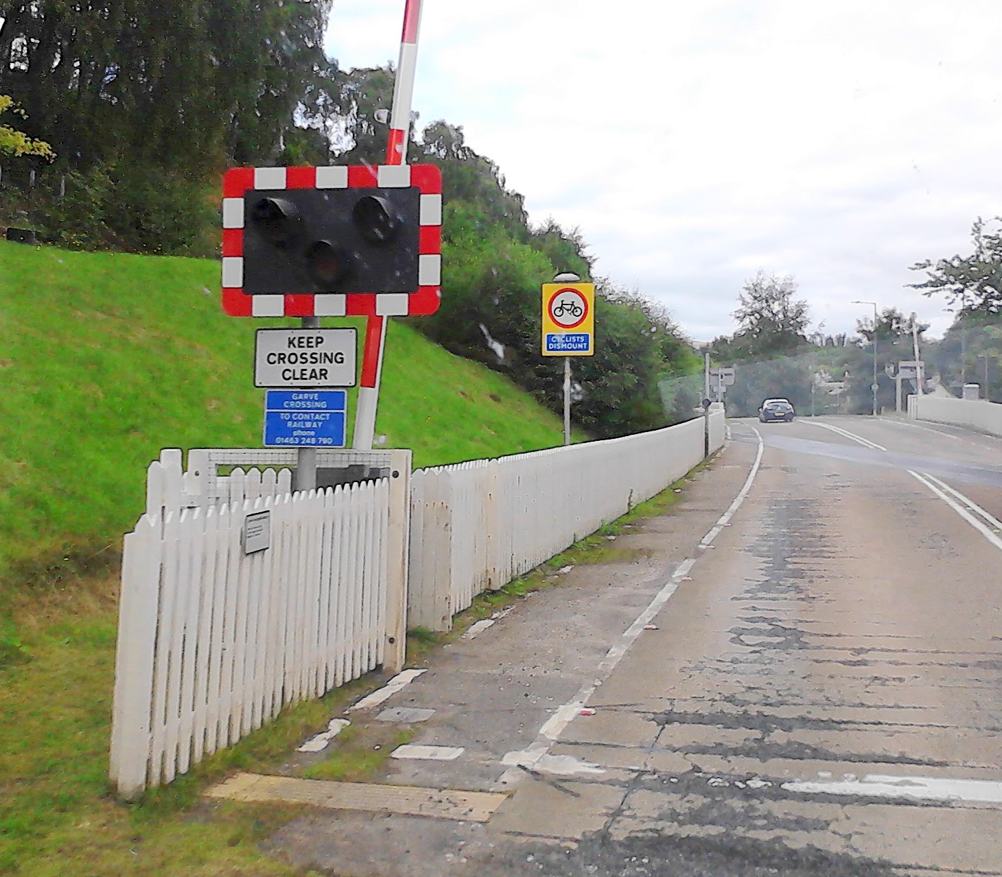Railway level crossings for cyclists - North Coast 500